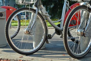 roues de bicyclette