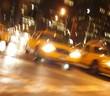 manhattan taxi hectic