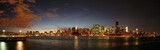 Fotoroleta manhattan skyline after sunset