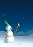 christmas greeting card (2) poster