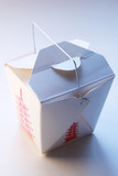 takeout food box poster