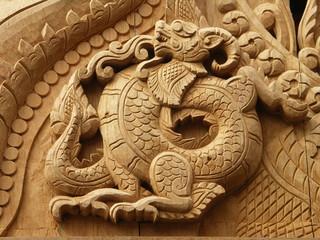 dragon de teck