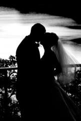 wedding siluete