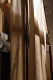 wood log poster