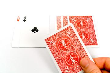 dealing stud poker
