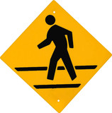 crossing sign poster