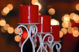 christmas candle poster