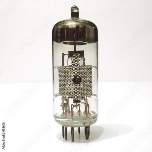 poster of vacuum tube
