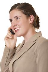 businesswoman mobile