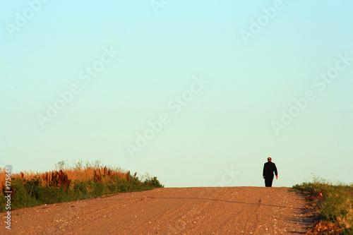 monk, morning walk t-shirt