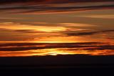 alaska sunset poster
