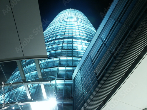 tower building with lots of glass