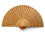 folding fan poster