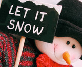 let it snow 1 poster