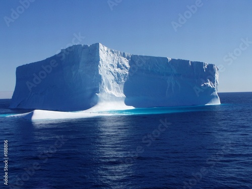 canvas print picture iceberg