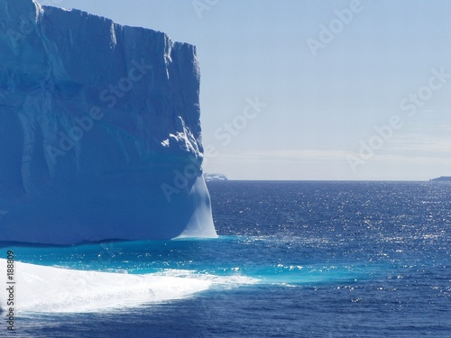 poster of icebergs in sight