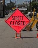 road repair poster