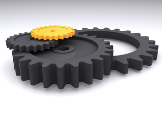 gears in perspective