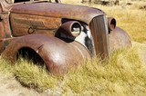 rusty vehicle poster