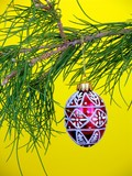 christmas ornament poster