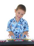 keyboard kid poster