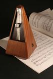 metronome avec partition poster