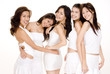 asian women in white #5