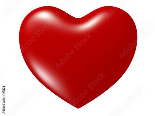 canvas print picture perfect heart