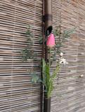 japanese spring flower arrangement poster