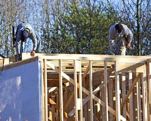 2 carpenters framing