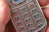 cell phone detail poster