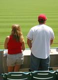 baseball fans poster