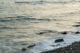 rocky shoreline poster