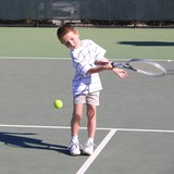 boy tennis player 3 poster