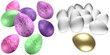easter eggs & gold egg