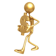 carry dollar symbol