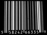 bar code inverted poster