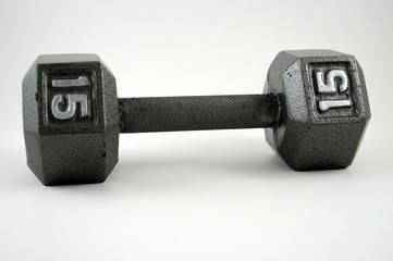 15 pound dumbell