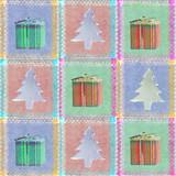 seasonal patchwork poster