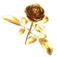gilded rose 3d