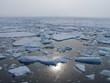 Leinwanddruck Bild - the arctic sea