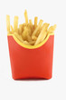 french fries in red box