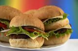 hamburgers poster