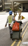 street cleaner poster