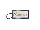 isolated success blank for key poster