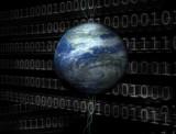 3d digital universe poster