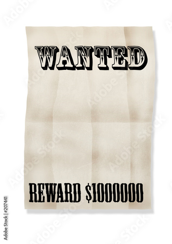 poster of  wanted!reward 1000000$