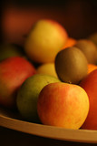 fruit plate poster