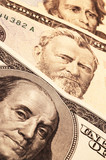 three usa presidents on cash poster