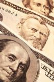 three usa presidents on cash poster